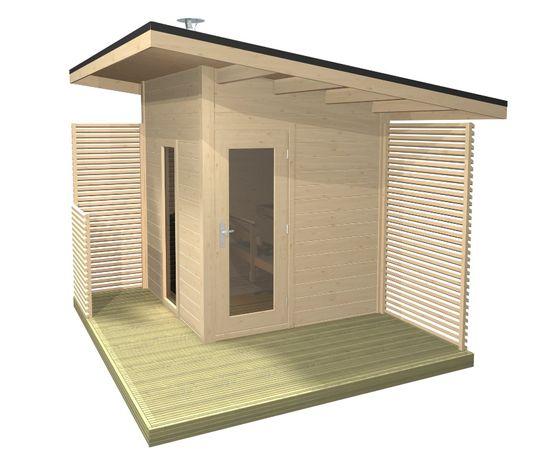 Sauna Solide Compact,saune de gradina