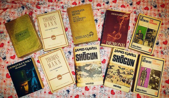 Dostoievski Hesse Shogun Thomas Mann