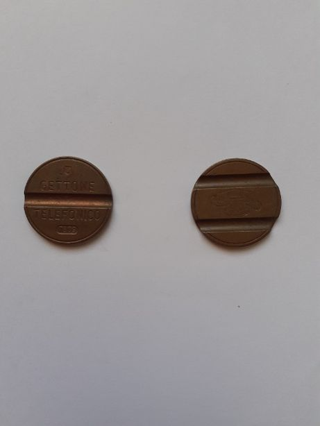 Monede Italia / Gettone telefonico - Italia 20 buc.