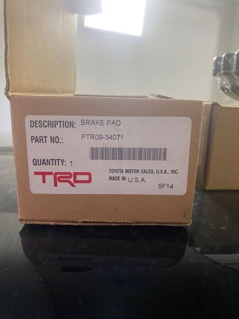 Продам колодки от 570 TRD