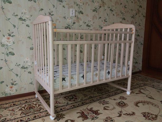 Детская передвижная кровать от 0 до 3х лет