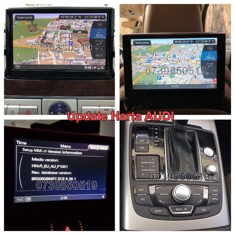 DVD/SD Harti Navigatie 2020 Audi MMI3G Plus AUDI A4 A5 A6 A7 A8 Q3 Q5