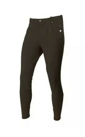 Pantaloni echitatie barbati Mark Todd Auckland Mens Breeches, maro