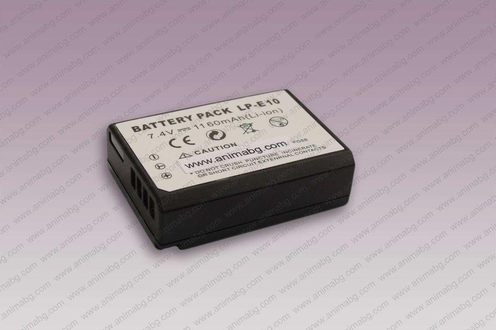 ANIMABG Батерия модел LP-E10 за Canon EOS 4000D 1100D EOS 1200D EOS 13