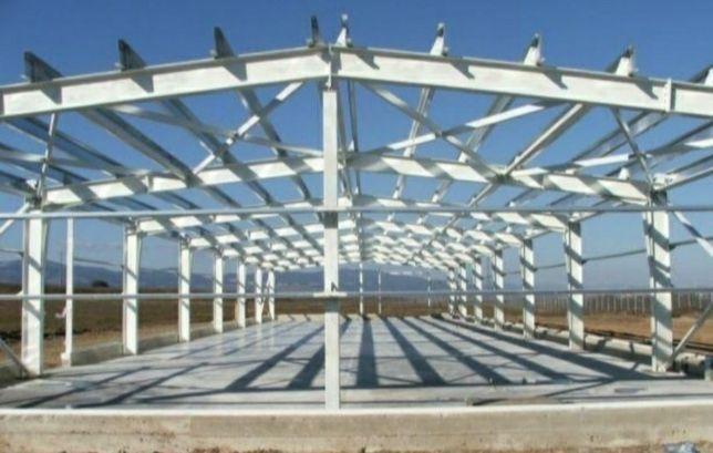 Vând structuri metalice