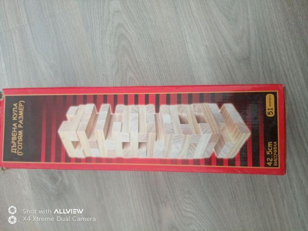 Joc cuburi lemn