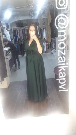 Продам платье изумрудного цвета