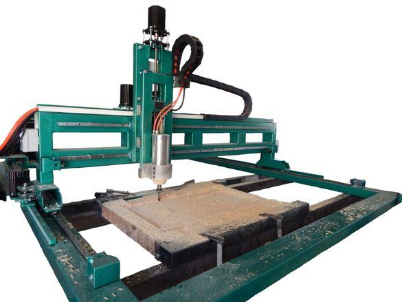CNC / ЦПУ Рутер 1800/1500 подсилен за дърворезби, фрезоване