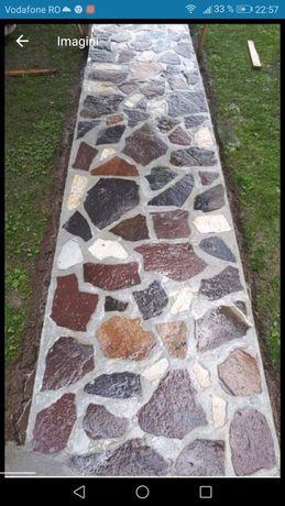 Vind și montez piatră naturala