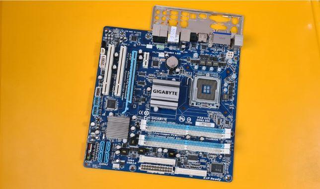 525S.Placa De Baza Gigabyte GA-EG41MF-US2H,4xDDR2,Socket 775
