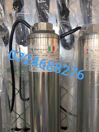 Pompa submersibila profesionala pentru decolmatare curatare puturi