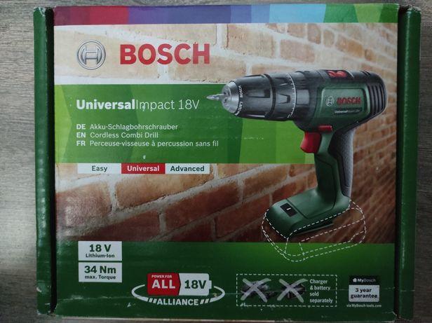 Bosch UniversalImpact 18v Cordless Combi Drill 06039D4100 -NOU-SIGILAT