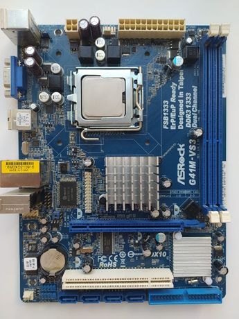 Материнская плата LGA 775 AsRock G41M-VS3