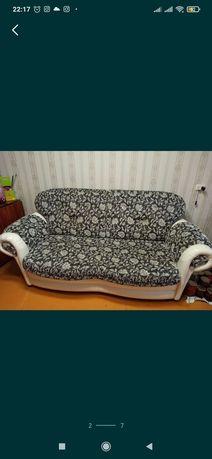Диван с креслом российкова производство