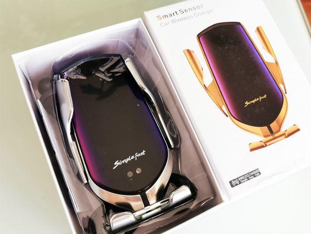 Suport auto cu Incarcare Wireless si senzor Automat Brate Mobile