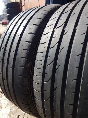 2 бр. летни гуми 225/50/17 Continental DOT0911 4,5-5 mm