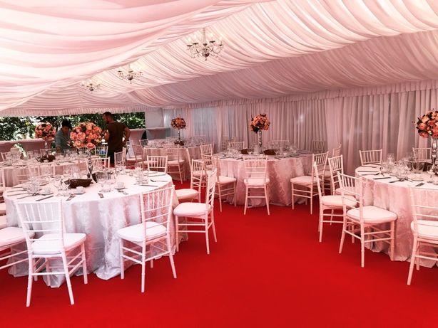Inchiriem Cort Corturi evenimente nunta botez , scaune , mese , decor