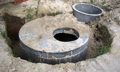 Установка септика прокладка канализаци и воды в дом качество опыт .