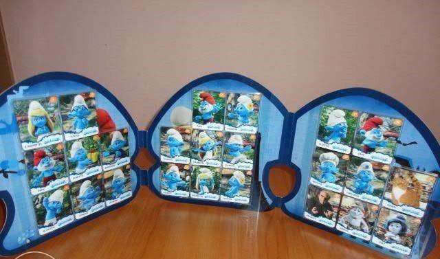 Album Colectie Strumfi 3D
