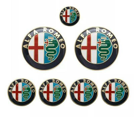 Stikere - set 8 embleme