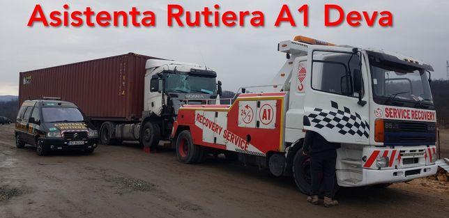 Tractari Camione A1 Autostrada Deva