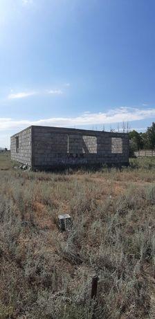 Не достроеный дом с участком 10 соток