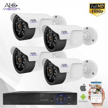 FULL HD Камери с DVR Комплект за Видеонаблюдение