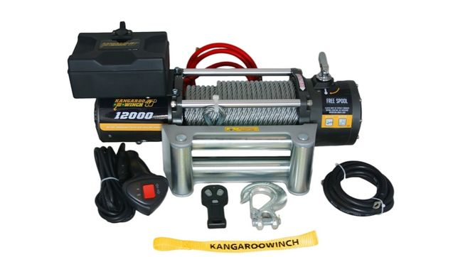 Troliu electric K 12000 E KangarooWinch/PowerWinch (5443kg) - NOU
