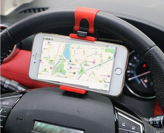 Смартфон държател за волана на автомобил