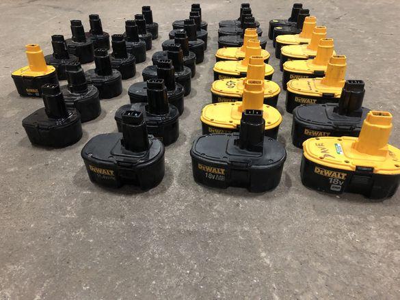 Батерии / неработещи / Dewalt - 12V, 14,4V, 18V