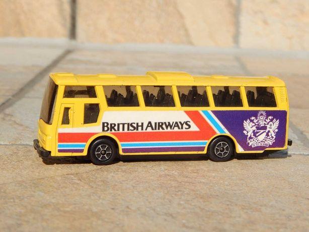 Macheta autocar linie aeriana British Airways Guiloy Spania sc 1:86