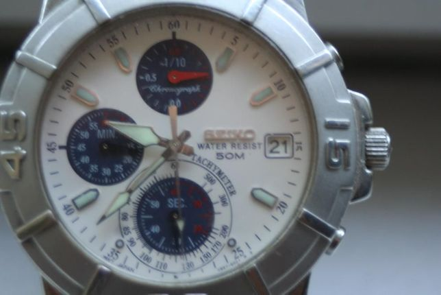 Seiko Chronograph WR 50m 400lei
