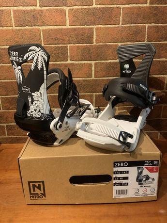 Legaturi snowboard noi Nitro Zero L 44-48