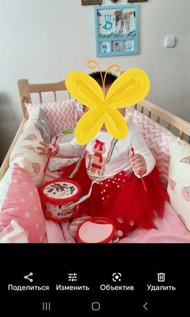 Кровать детская с бортиками