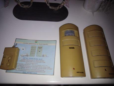 Alarma infrarosu cu telecomanda senzor miscare