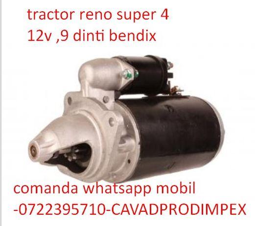 Electromotor pentru tractor RENO super 4 ,9 dinti ,serie d11e9