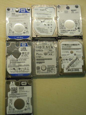 Vand hard disk-uri laptop de 1tb si de 500 gb