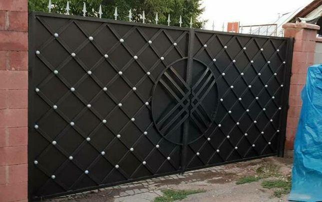 Двери ,пандусы,решетки,ограждения,навесы,козырьки.