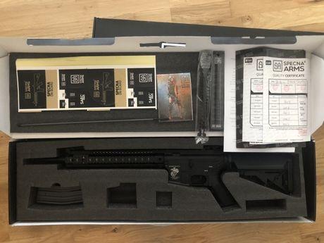 Replica M4 SA-B12 SAEC Specna Arms + CADOU ochelari