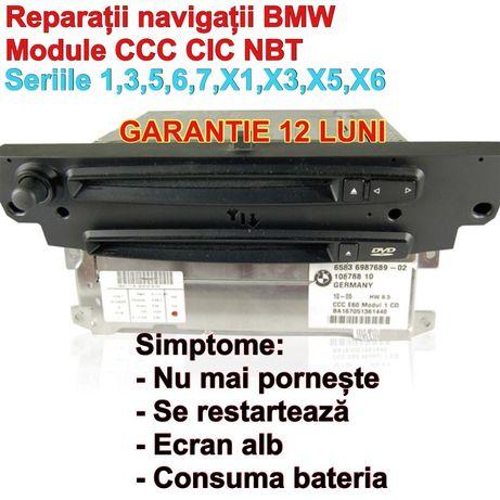 Navigatii BMW Reparatie CCC CIC NBT MASK E90 E60 harti 2021