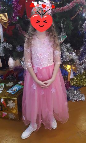 Платье на 7-8лет