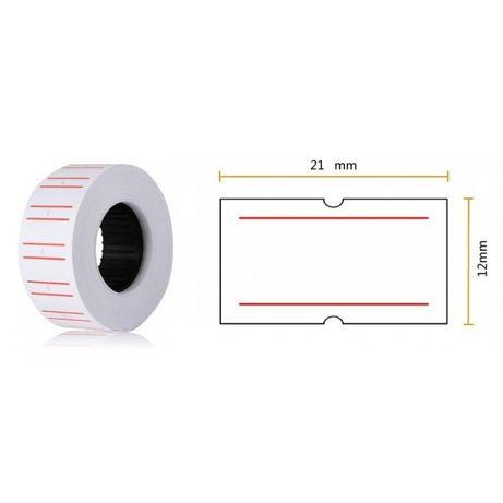 Role de etichete 21 x 12 mm pentru marcatoare de preturi