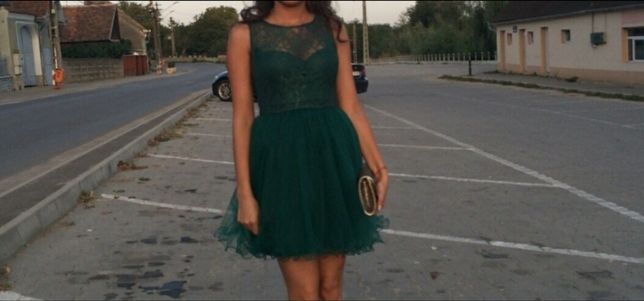Rochiță verde XS