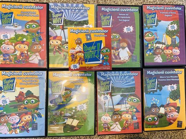 Magicienii cuvintelor - Colectie 9 DVD-uri