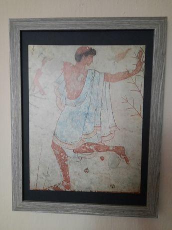 Litografie dansator(Tomba del Triclinio)