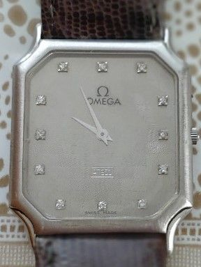 Omega platinum flat