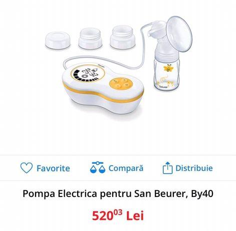 Pompa de san electrica noua pret magazin 520 lei