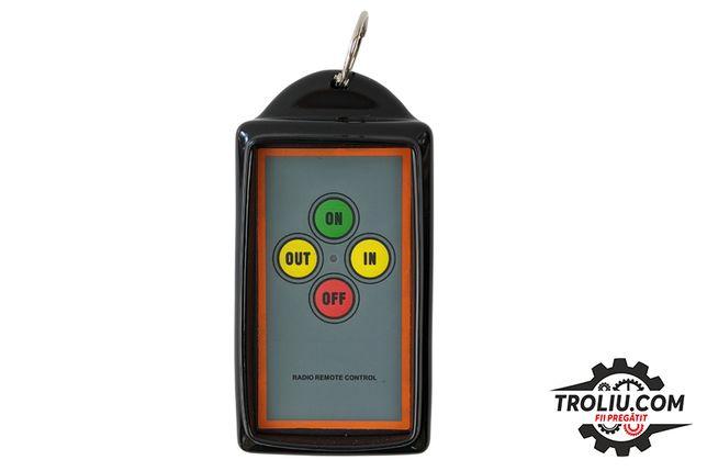 """Telecomanda""""anti-șoc""""pentru troliu 12V/24V (transmițător și receptor)"""
