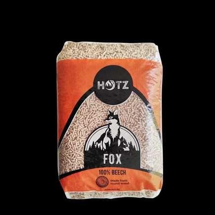 Пелети fox  hotz дървени