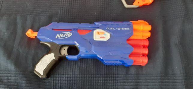 Arma de jucarie pusca Nerf Elite Blaster Dual-Strike